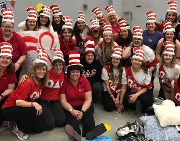 Omega Delta Phi at the 2017 SUNY Potsdam Relay For Life